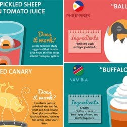 Hangover Cures Around The World