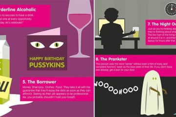 Housemate Personality TypesHousemate Personality Types