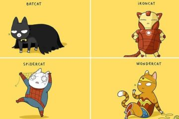 If Cats Were Superheroes