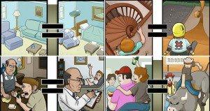 Illustrations Showing Drunk People Visualise