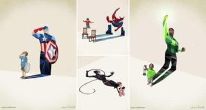 Jason Ratliff Illustrations Child Hero