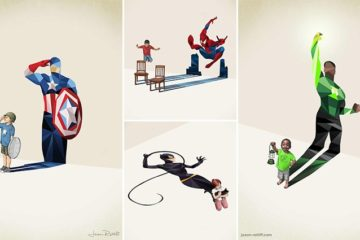 Jason Ratliff Illustrations Child Hero