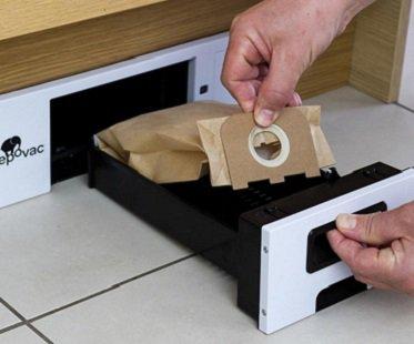 Kitchen Cabinet Vacuum