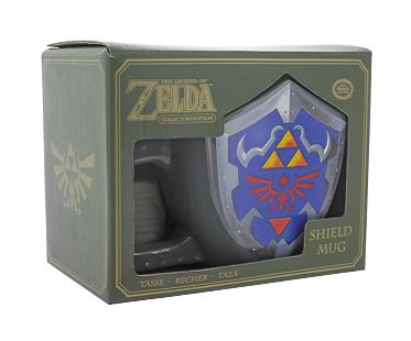 Legend of Zelda Shield Mug box