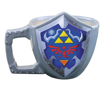 Legend of Zelda Shield Mug game