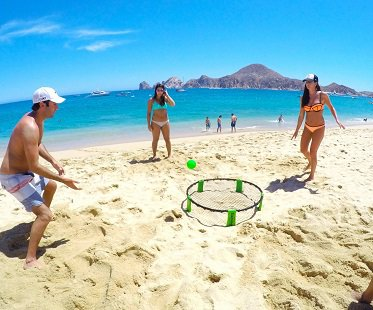 Mini Volleyball Style Game Set beach