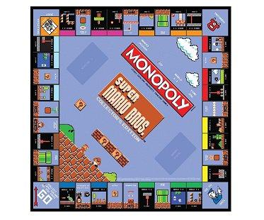 super mario monopoly board game