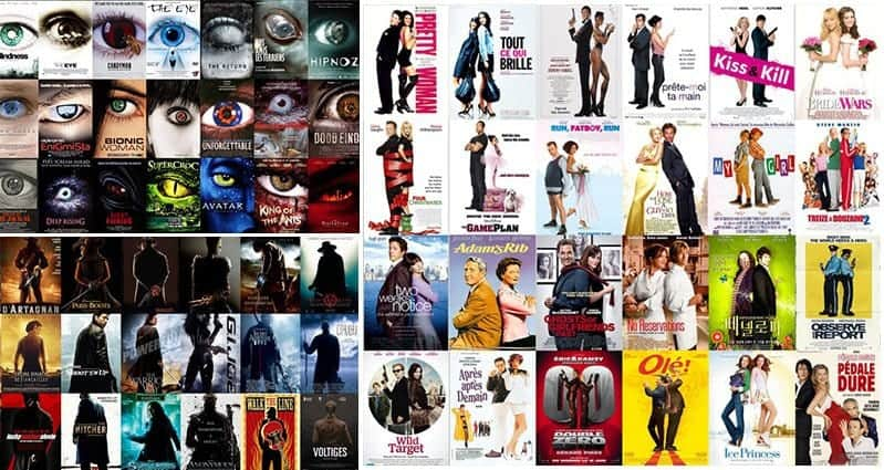 Over Used Movie Poster Clichés