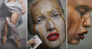 Realistic Paintings Mike Dargas