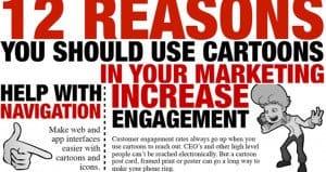 Reasons Using Cartoons Marketing