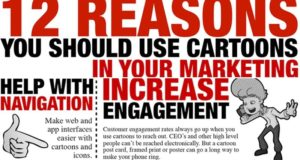 Reasons Using Cartoons Marketing