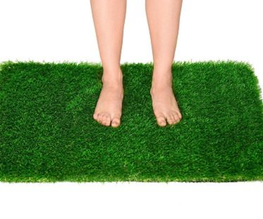 Relaxing Fake Grass Rug home