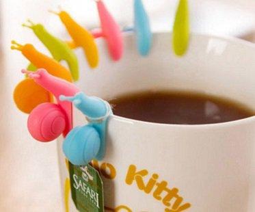 Snail Tea Bag Holder cup