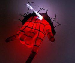 Spider Man Hand Night Light