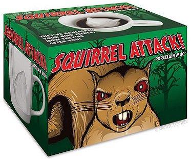 Squirrel Attack Mug coffee box