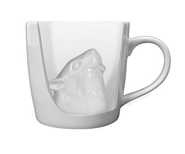 Squirrel Attack Mug coffee