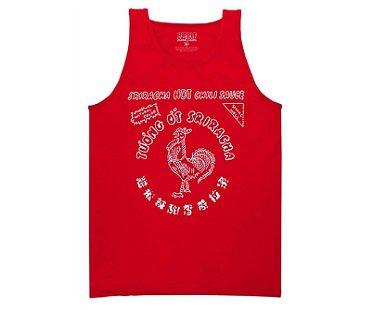 Sriracha Tank Top red