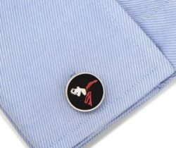 Superman Silhouette Cufflinks