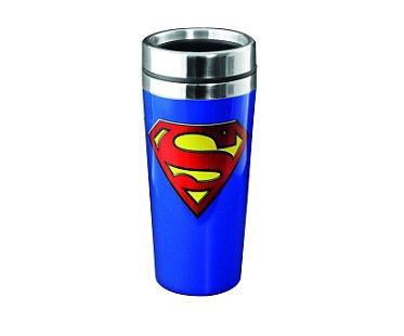 Superman Travel Mug blue