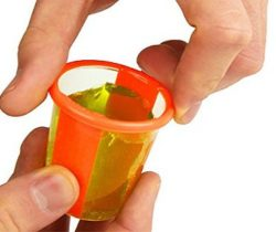 Twisting Jello Shot Cups