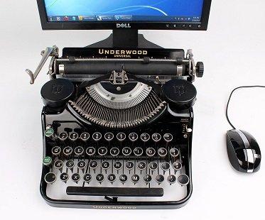 USB Typewriter Keyboard bluetooth