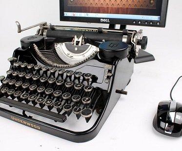 USB Typewriter Keyboard dock