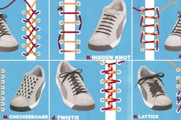 Ways To Tie ShoelaceS