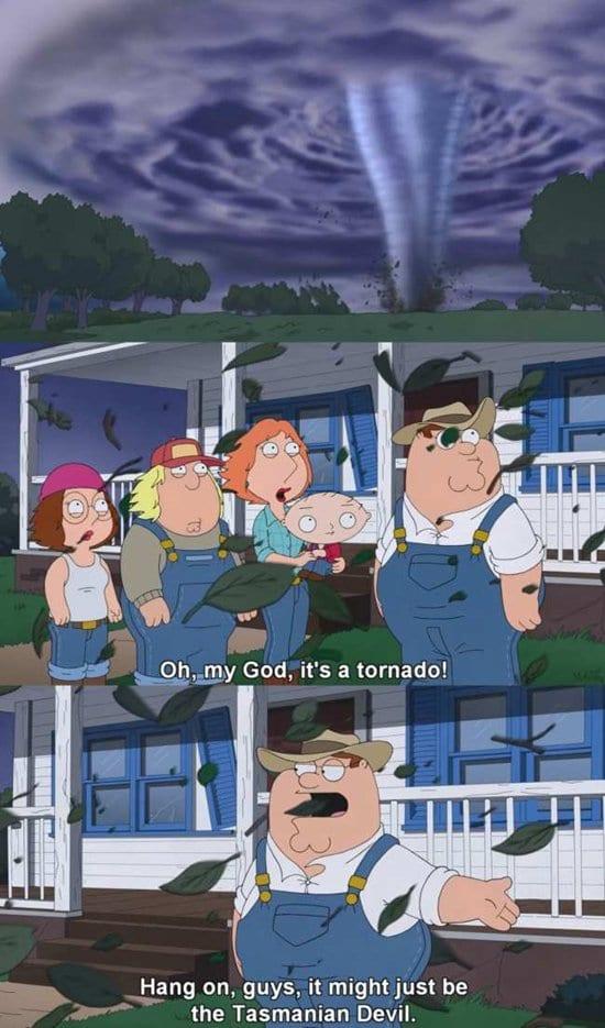 best-family-guy-moments-tornado