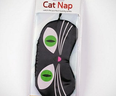 cat eyes sleep mask nap