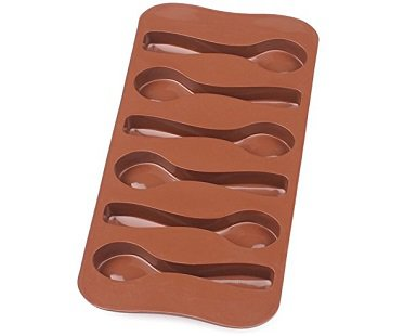 chocolate spoon mold silicone