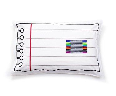 doodle pillowcase drawing