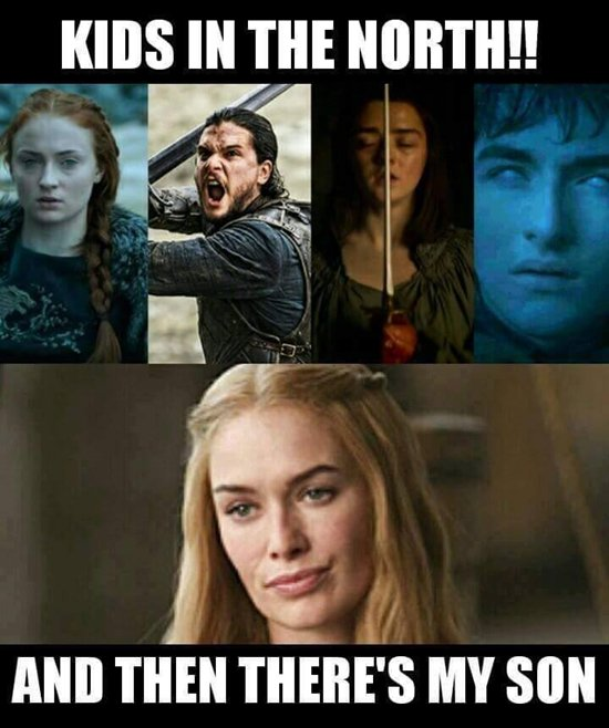 Fanarts & Memes Game-of-thrones-memes-north-v-south