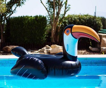 giant inflatable toucan