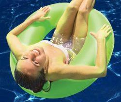 glow in the dark pool float