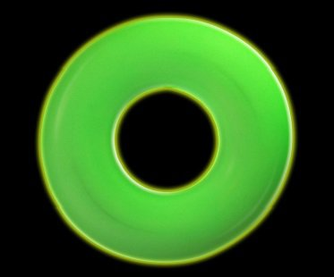 glow in the dark pool float rubber ring
