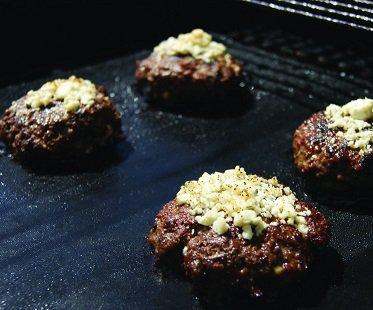grill mats burgers