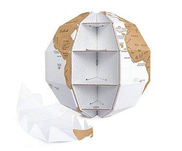 scratch off globe map