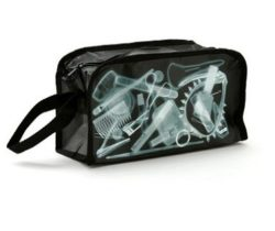 x-ray toiletry bag