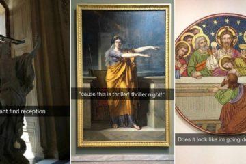 30 museum snapchats