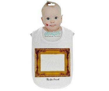 Art Frame Baby Bib