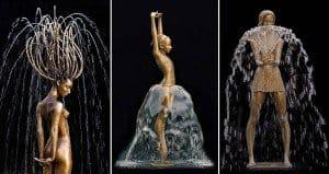 Bronze Fountain Sculptures