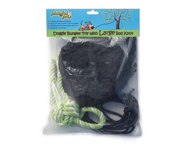 Bungee Rope Dog Toy ball