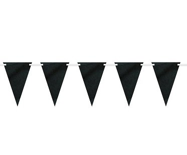 Chalkboard Paper Bunting Flags banner