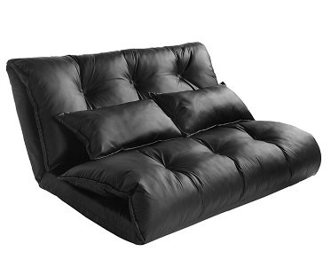 Convertible Leather Sofa bed