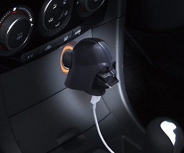 Darth Vader USB Car Charger phone