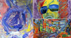 Dillon James Synesthesia Paints Sound Math