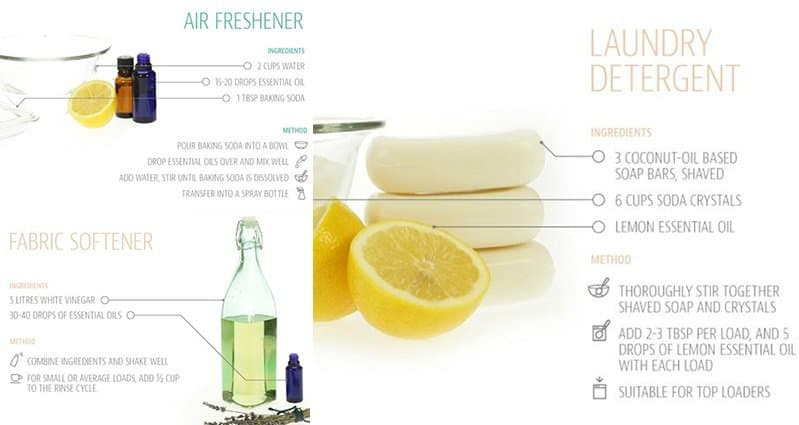 11 Effective DIY Cleaning Product Recipes And The Methods