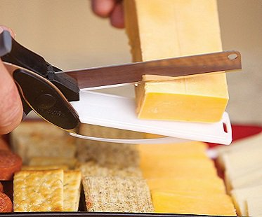 Food Cutting Scissors cheese