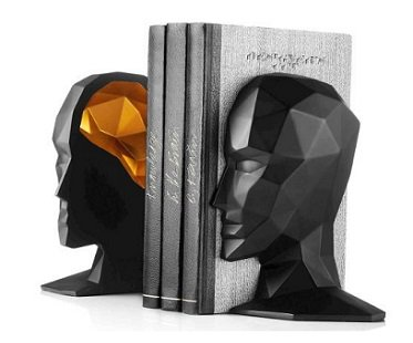 Head And Brain Bookends home