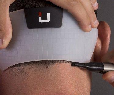 Neckline Shaving Template head